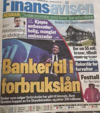 MONOBANK omtale i Finansavisen 29.05.15