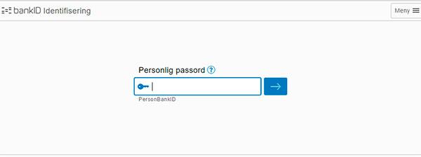 BankID Personligpassord