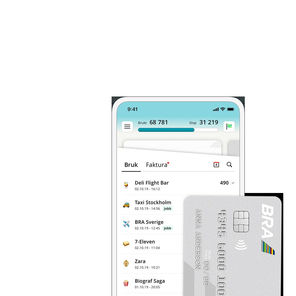 BRA Kreditkort Header